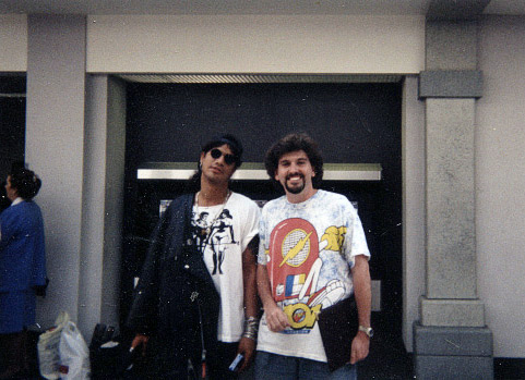 Roger Epperson and Slash of Gun n' Roses